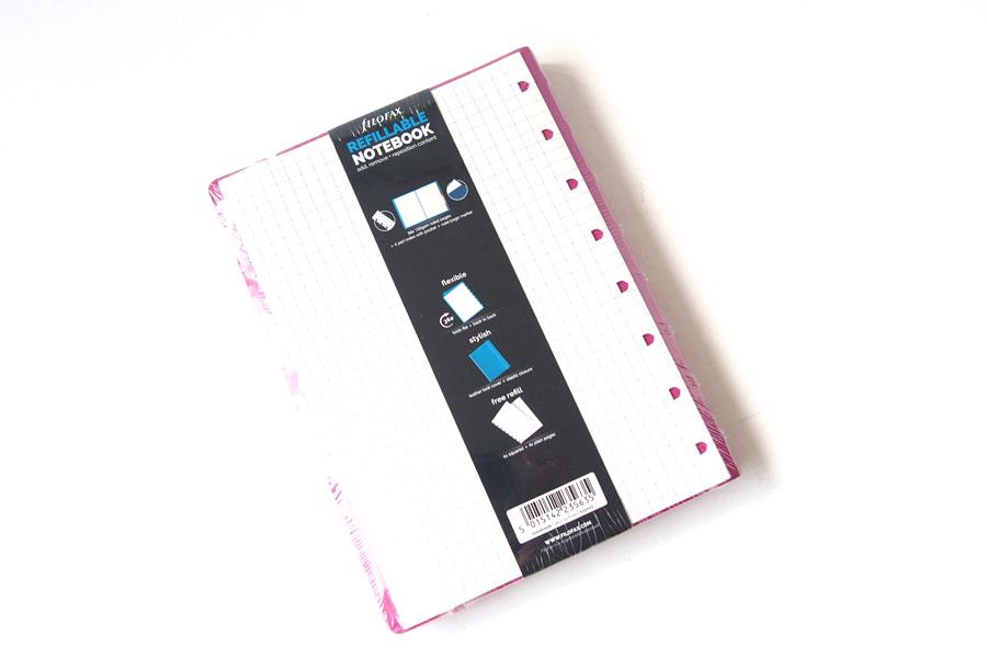ファイロファックス filofax 補充差し替え可能ノートブック ハードカバー A5サイズイメージ02