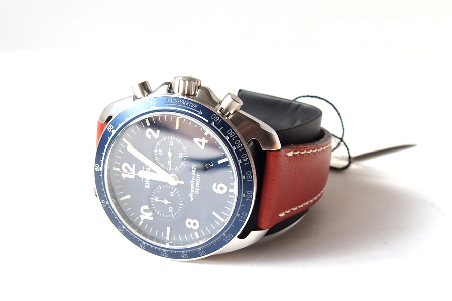 シャイノラ|shinola|時計|ランブラー|44mm径|10気圧防水|クオーツ|ネイビーイメージ09