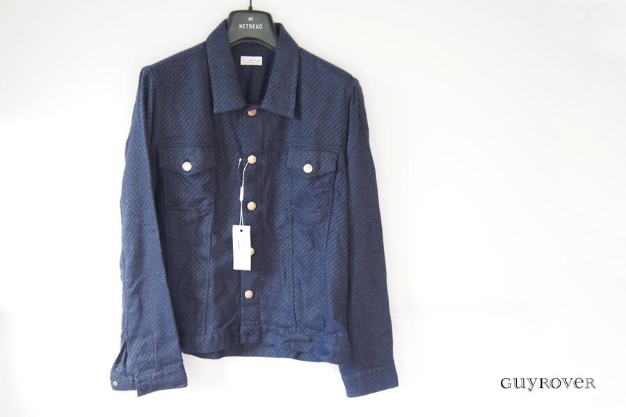 ギローバー|GUY ROVER|コットンシャツジャケット|S|ネイビーイメージ01