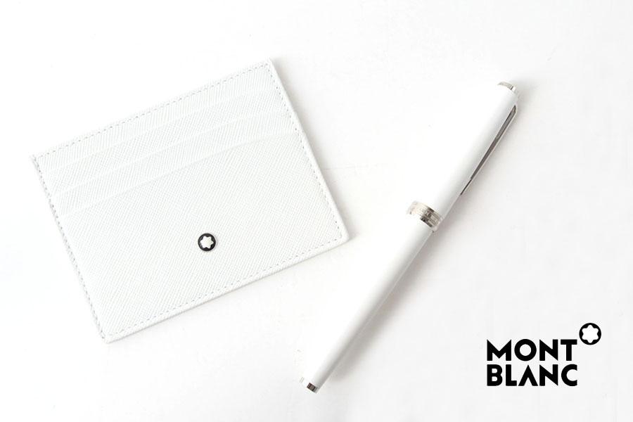 モンブラン|MONTBLANC|PIXボールペン×サルトリアル ポケットホルダー 6ccセット|ホワイトイメージ01