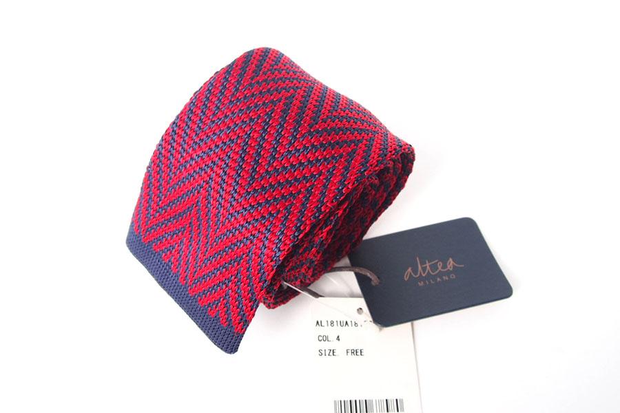 アルティア|ALTEA|シルク100%ニットタイイメージ04