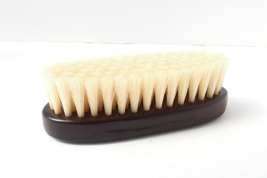 ザパトロ|Zapatro Bueno|ポリッシュブラシセット|ホースヘア×ピッグヘア×クリーム付けブラシ3本|スミブラックイメージ06