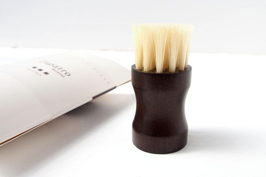 ザパトロ|Zapatro Bueno|ポリッシュブラシセット|ホースヘア×ピッグヘア×クリーム付けブラシ3本|スミブラックイメージ09