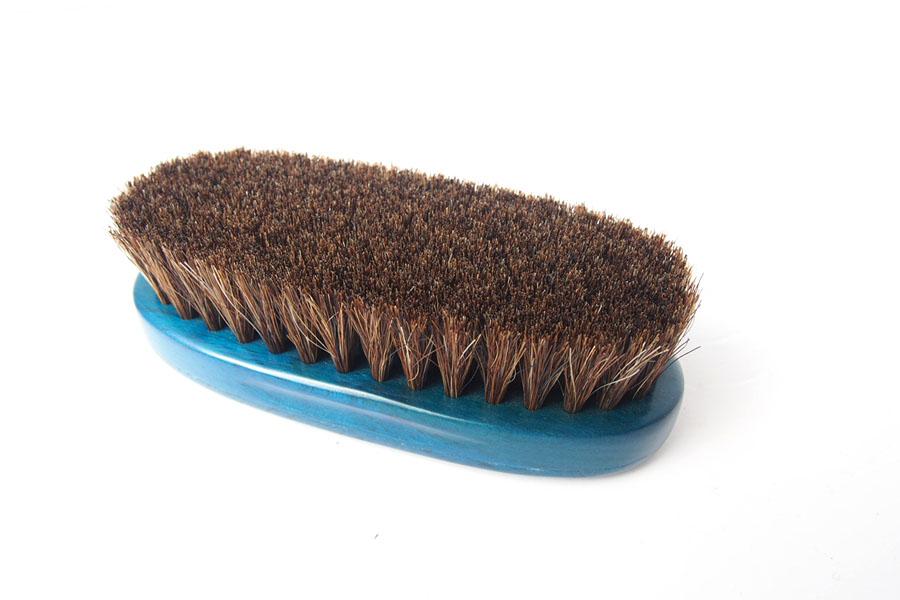 ザパトロ|Zapatro Bueno|ポリッシュブラシセット|ホースヘア×ピッグヘア×クリーム付けブラシ3本|ターコイズブルーイメージ04