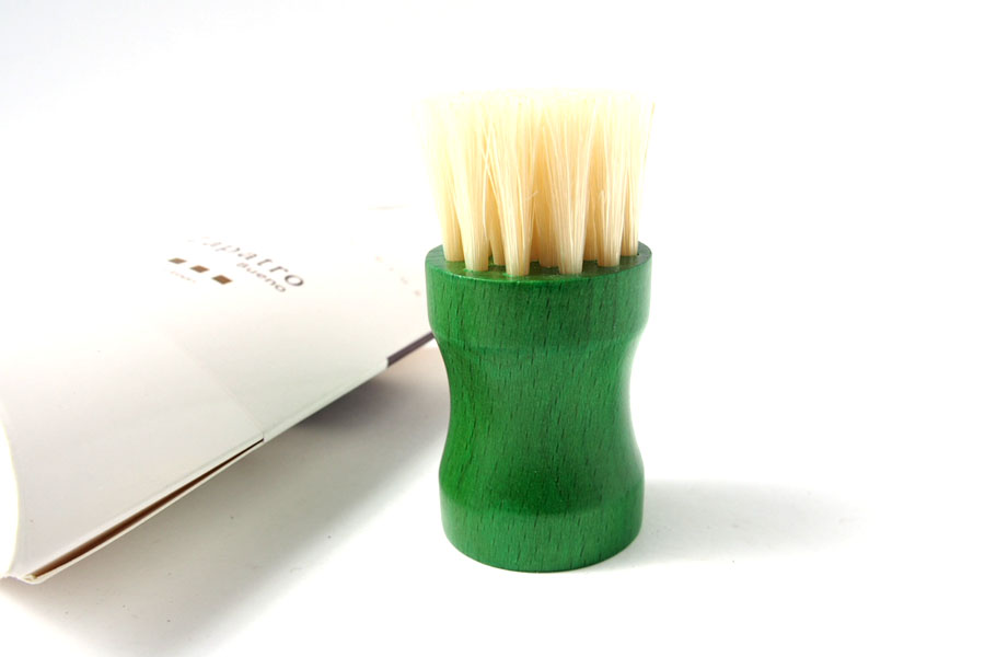 ザパトロ|Zapatro Bueno|ポリッシュブラシセット|ホースヘア×ピッグヘア×クリーム付けブラシ3本|グリーンイメージ09