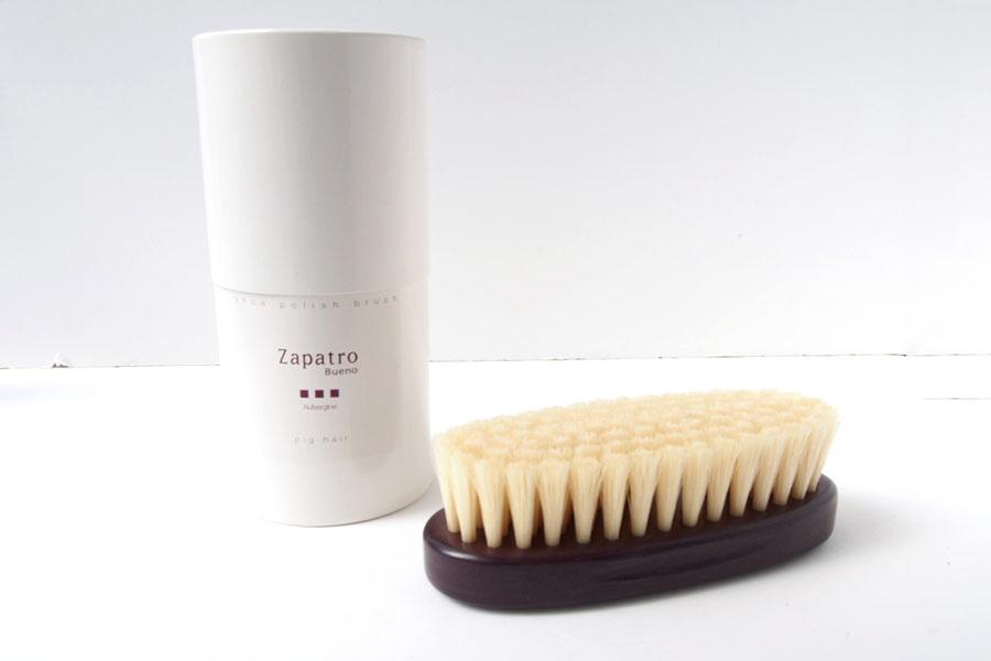 ザパトロ|Zapatro Bueno|ポリッシュブラシセット|ホースヘア×ピッグヘア×クリーム付けブラシ3本|パープルイメージ04