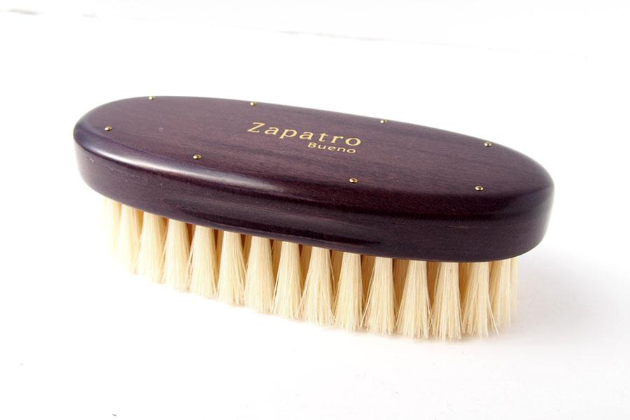 ザパトロ|Zapatro Bueno|ポリッシュブラシセット|ホースヘア×ピッグヘア×クリーム付けブラシ3本|パープルイメージ06