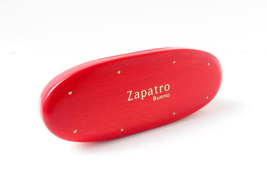 ザパトロ|Zapatro Bueno|ポリッシュブラシセット|ホースヘア×ピッグヘア×クリーム付けブラシ3本|レッドイメージ07