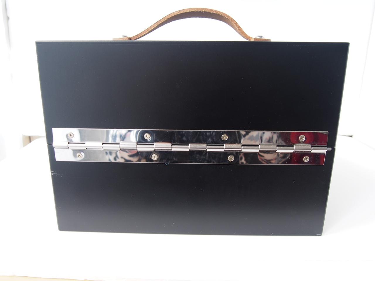 サフィール|SAPHIR|シューケアウッドボックス|靴磨きブラシ収納ボックス【木箱のみの単品販売】イメージ03