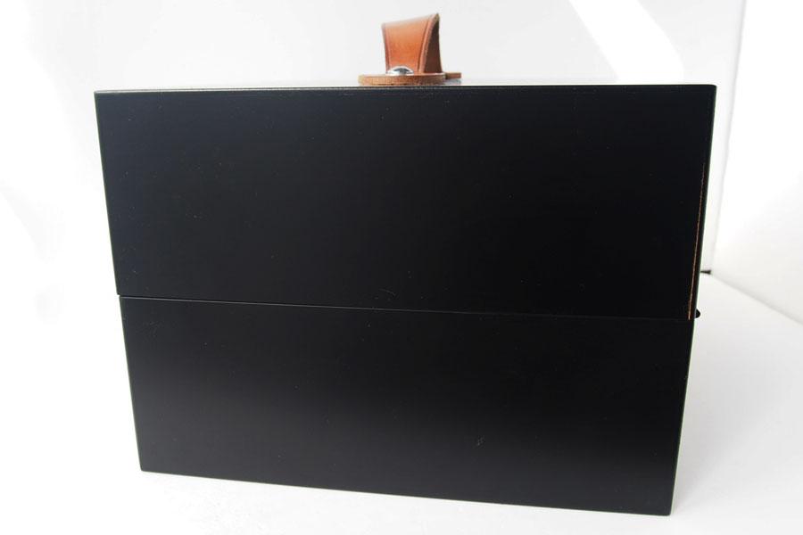 サフィール|SAPHIR|シューケアウッドボックス|靴磨きブラシ収納ボックス【木箱のみの単品販売】イメージ04