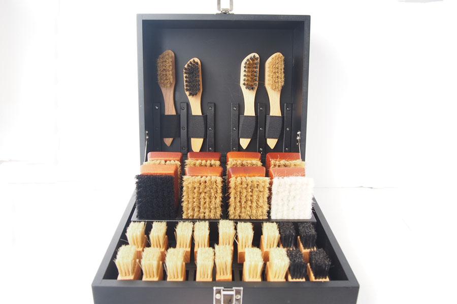 サフィール|SAPHIR|シューケアウッドボックス|靴磨きブラシ収納ボックス【木箱のみの単品販売】イメージ06