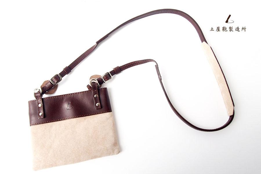 土屋鞄製造所|TSUCHIYA KABAN|ポーチ付きカメラストラップイメージ01