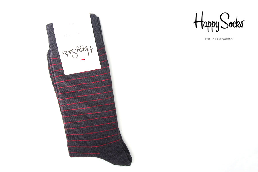 ハッピーソックス|happy socks|クルー丈カジュアルソックス|ストライプ柄ソックスイメージ01