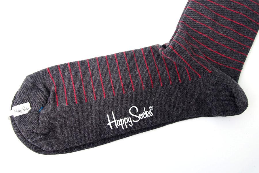 ハッピーソックス|happy socks|クルー丈カジュアルソックス|ストライプ柄ソックスイメージ02