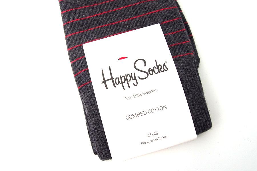 ハッピーソックス|happy socks|クルー丈カジュアルソックス|ストライプ柄ソックスイメージ04