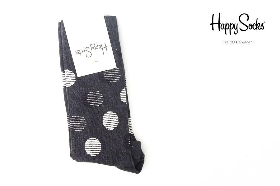 ハッピーソックス|happy socks|クルー丈カジュアルソックス|ドット柄ソックス|OUT OF FOCUS DOTイメージ01