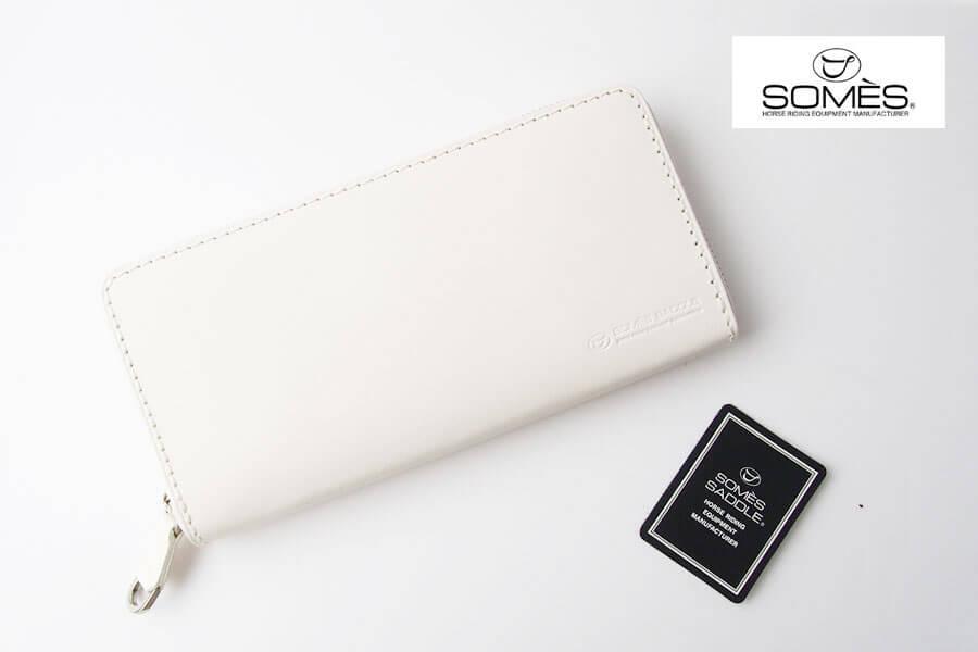 ソメスサドル|SOMES SADDLE|ラウンド長財布|束入れ|パスチャー|PASTURE|PA-01_WHイメージ01