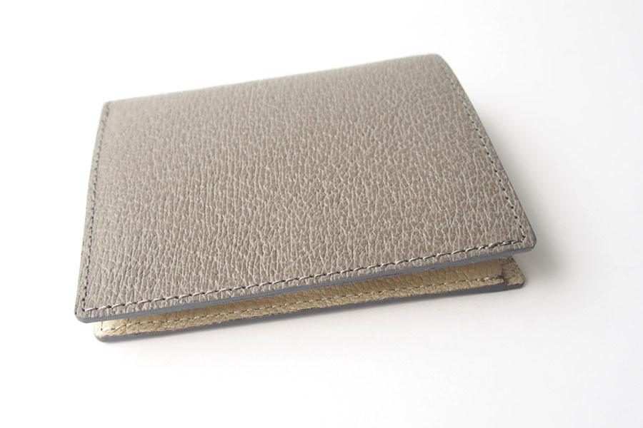 トフアンドロードストン|toffandloadstone|2つ折り財布|ミニウォレット|ペッカリー|Mini wallet Peccary|TMA-039|ベージュイメージ03