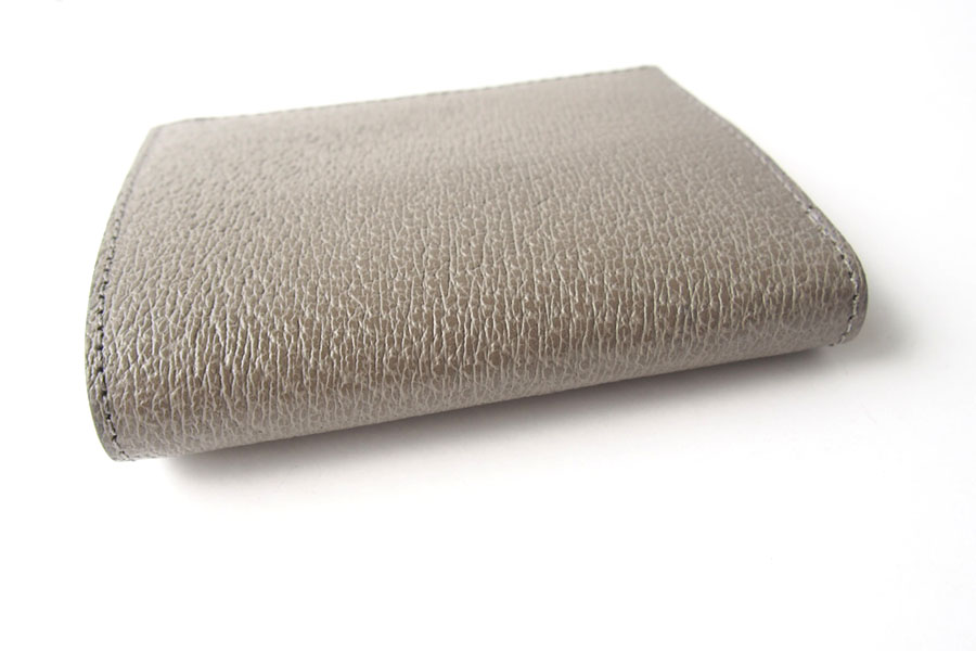トフアンドロードストン|toffandloadstone|2つ折り財布|ミニウォレット|ペッカリー|Mini wallet Peccary|TMA-039|ベージュイメージ04