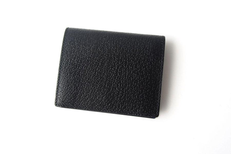 トフアンドロードストン|toffandloadstone|2つ折り財布|ミニウォレット|ペッカリー|Mini wallet Peccary|TMA-039|ブラックイメージ02