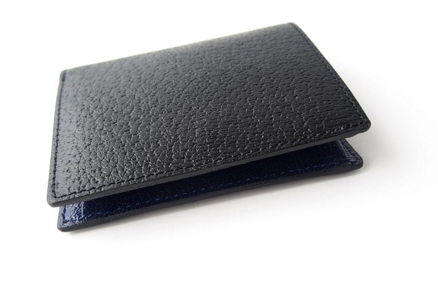 トフアンドロードストン|toffandloadstone|2つ折り財布|ミニウォレット|ペッカリー|Mini wallet Peccary|TMA-039|ブラックイメージ04