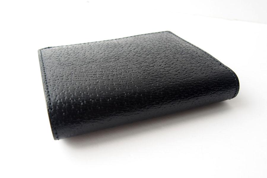 トフアンドロードストン|toffandloadstone|2つ折り財布|ミニウォレット|ペッカリー|Mini wallet Peccary|TMA-039|ブラックイメージ05