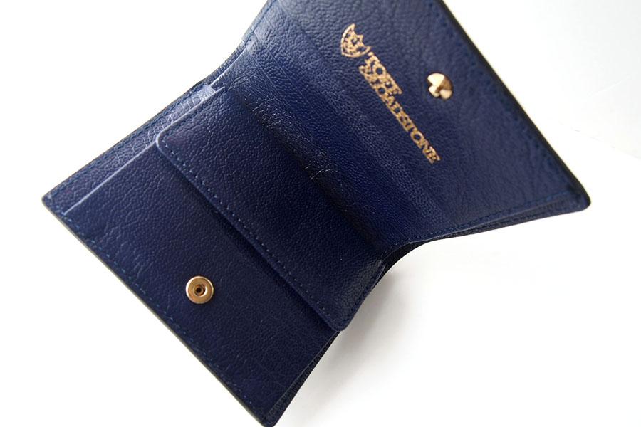 トフアンドロードストン|toffandloadstone|2つ折り財布|ミニウォレット|ペッカリー|Mini wallet Peccary|TMA-039|ブラックイメージ06
