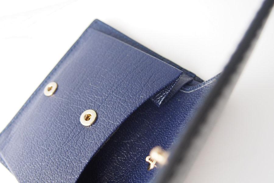 トフアンドロードストン|toffandloadstone|2つ折り財布|ミニウォレット|ペッカリー|Mini wallet Peccary|TMA-039|ブラックイメージ07