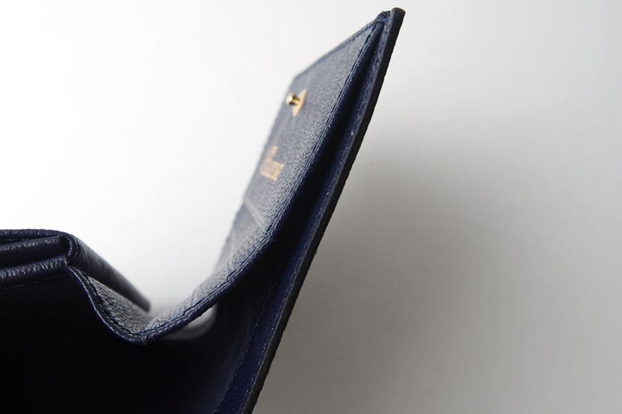 トフアンドロードストン|toffandloadstone|2つ折り財布|ミニウォレット|ペッカリー|Mini wallet Peccary|TMA-039|ブラックイメージ08