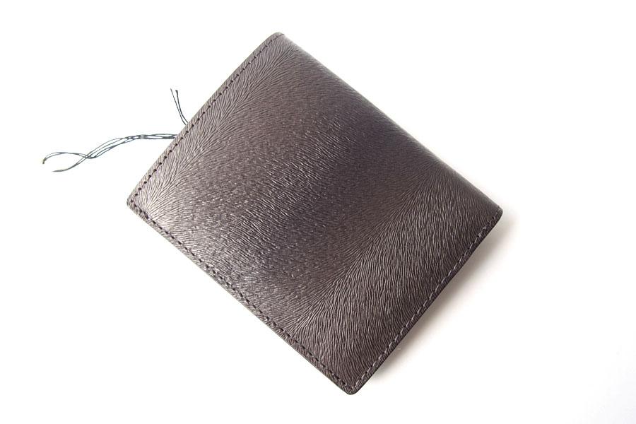 トフアンドロードストン|toffandloadstone|2つ折り財布|ミニウォレット|ミンク型押しレザー|Mini wallet Mink|TMA-046イメージ02