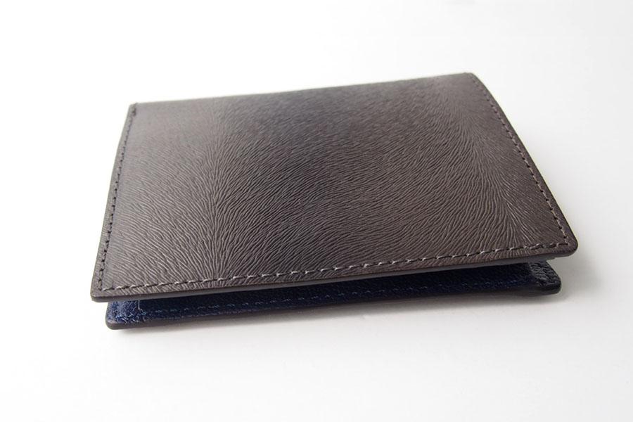 トフアンドロードストン|toffandloadstone|2つ折り財布|ミニウォレット|ミンク型押しレザー|Mini wallet Mink|TMA-046イメージ03