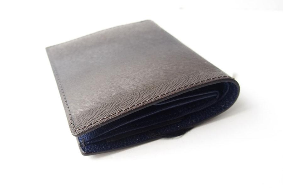 トフアンドロードストン|toffandloadstone|2つ折り財布|ミニウォレット|ミンク型押しレザー|Mini wallet Mink|TMA-046イメージ04