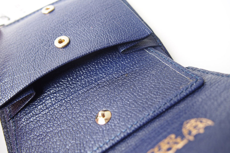 トフアンドロードストン|toffandloadstone|2つ折り財布|ミニウォレット|ミンク型押しレザー|Mini wallet Mink|TMA-046イメージ07