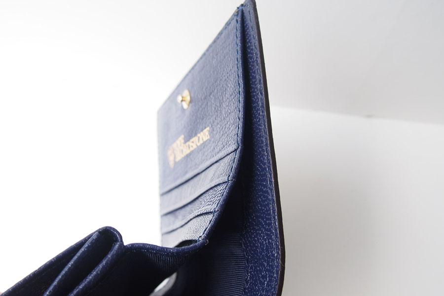 トフアンドロードストン|toffandloadstone|2つ折り財布|ミニウォレット|ミンク型押しレザー|Mini wallet Mink|TMA-046イメージ09