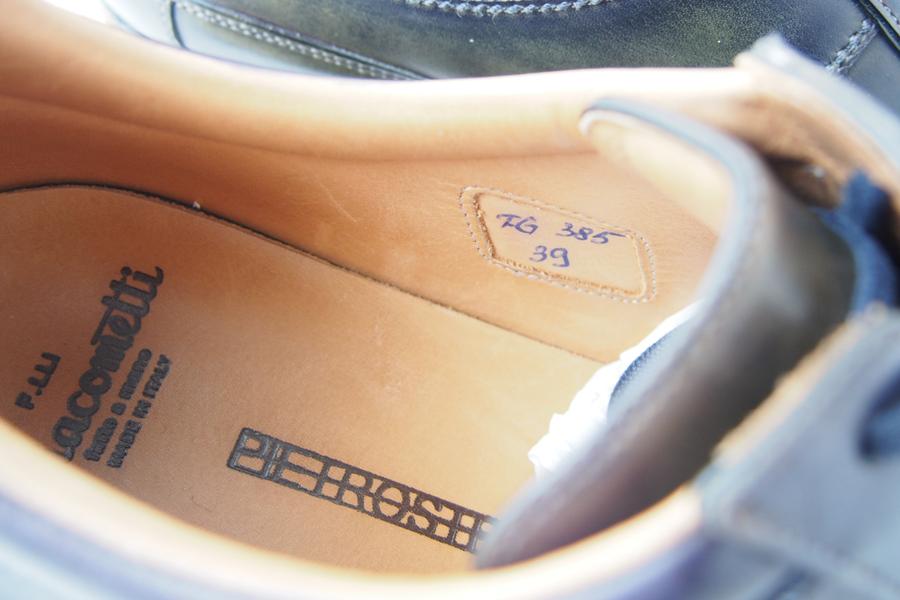 ジャコメッティ F.lli Giacometti レザースニーカー  FG385イメージ05