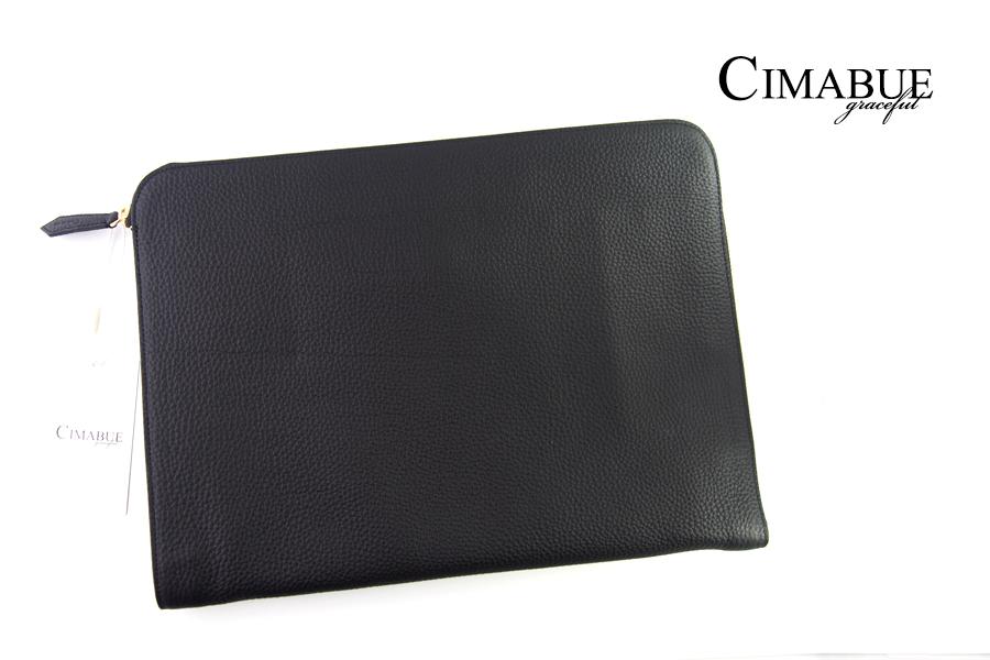 チマブエ グレースフル|CIMABUE graceful |シュランケンカーフ クラッチバック|ブラックイメージ01