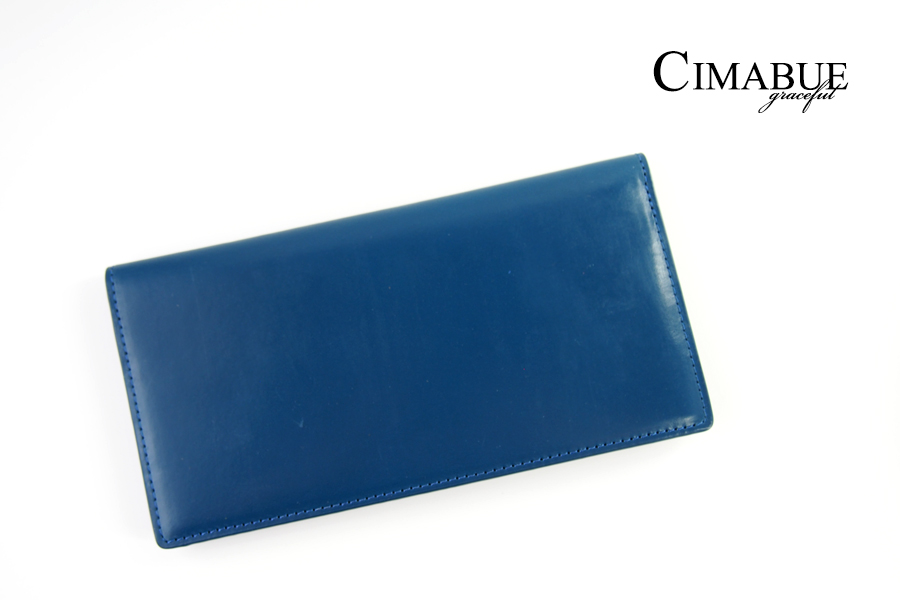 チマブエ グレースフル|CIMABUE graceful |ブライドルレザーかぶせ薄型長財布|15051イメージ01