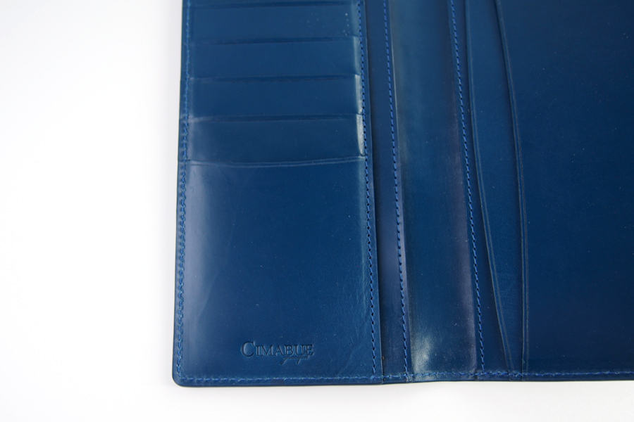 チマブエ グレースフル|CIMABUE graceful |ブライドルレザーかぶせ薄型長財布|15051イメージ07