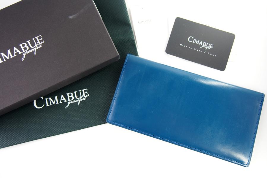 チマブエ グレースフル|CIMABUE graceful |ブライドルレザーかぶせ薄型長財布|15051イメージ09