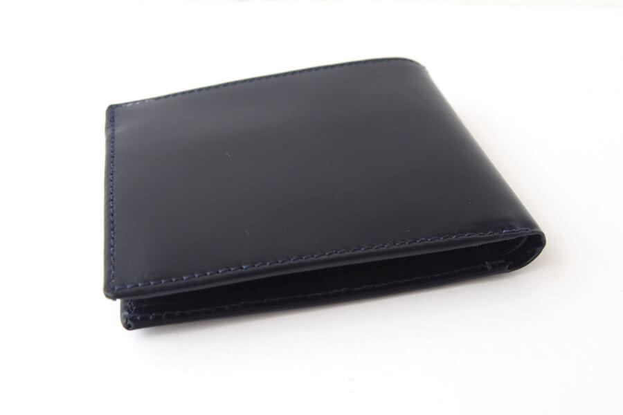 シンプソン ロンドン SIMPSON LONDON 小銭入れ付き2つ折り財布 コードバン ネイビーイメージ02