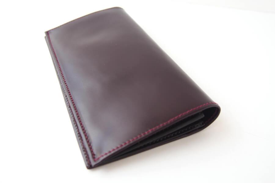 シンプソン ロンドン SIMPSON LONDON 小銭入れ付き長財布 コードバン OXブラッドボルドーイメージ03