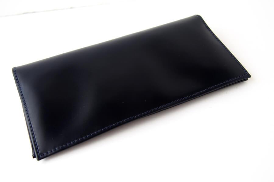 シンプソン ロンドン|SIMPSON LONDON|小銭入れ付き長財布|コードバン|ネイビーイメージ02
