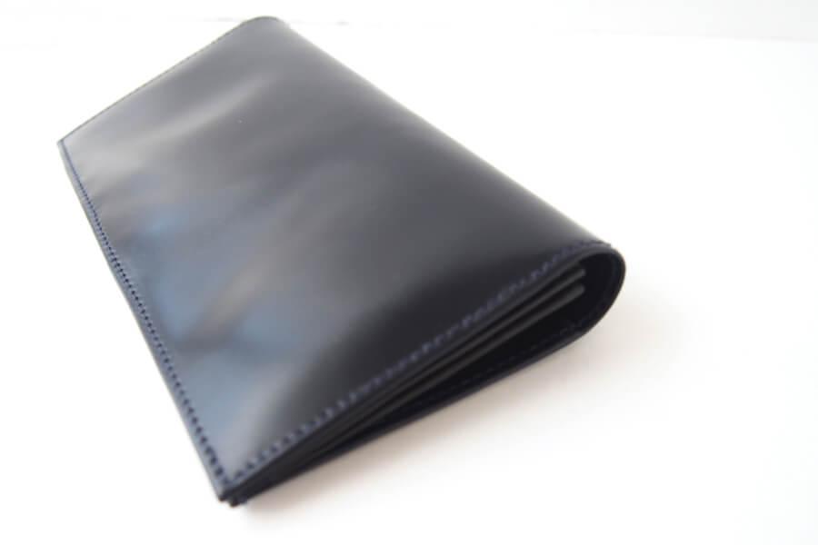 シンプソン ロンドン|SIMPSON LONDON|小銭入れ付き長財布|コードバン|ネイビーイメージ03