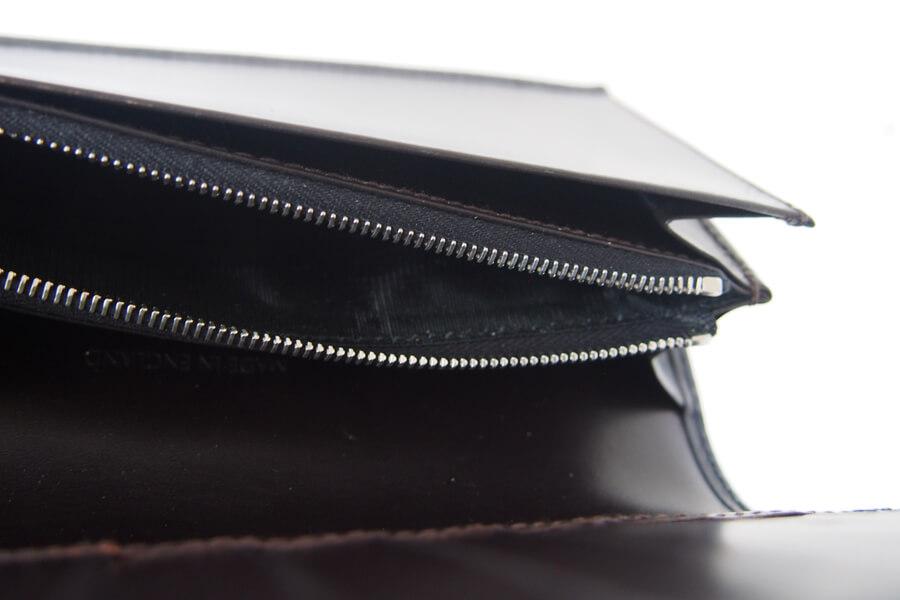 シンプソン ロンドン|SIMPSON LONDON|小銭入れ付き長財布|コードバン|ネイビーイメージ08
