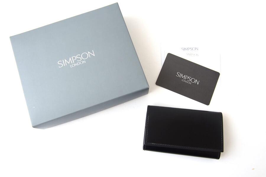 シンプソン ロンドン SIMPSON LONDON キーケース コードバン ブラックイメージ09