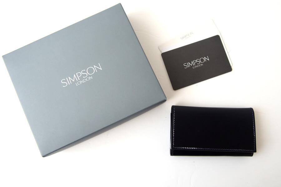 シンプソン ロンドン|SIMPSON LONDON|キーケース|コードバン|ネイビーイメージ09