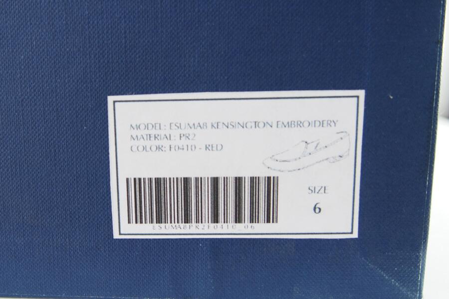 エデン|EDHEN MILANO|刺繍入りスエード素材ローファーイメージ010