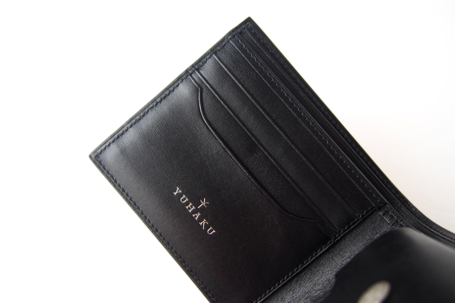 ユハク|YUHAKU|二つ折り財布|手染め|Luce e Ombra|レッドイメージ08