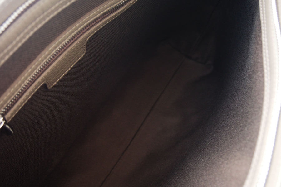 シャンボールセリエ|CHAMBORD SELLIER|ブリーフバッグ|Lilleリール|LAGUN|LOUTRE|グレーベージュイメージ07
