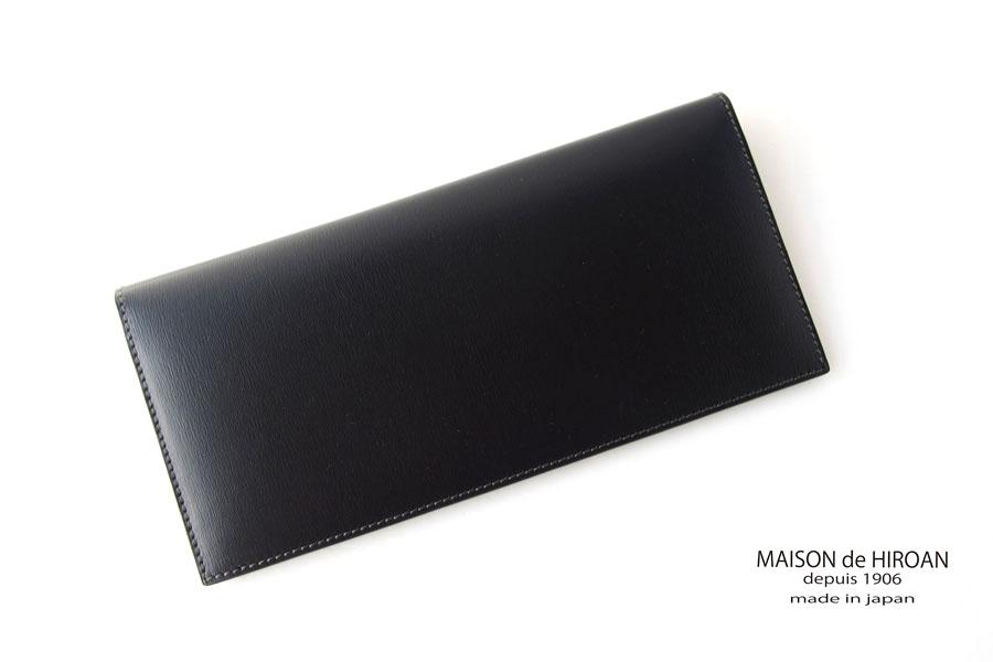 メゾンドヒロアン| MAISON DE HIROAN|札入れ|ブラックイメージ01